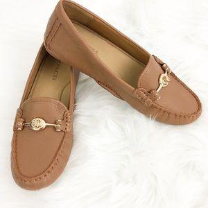 Coach Arlene Leather Loafer Size 8B